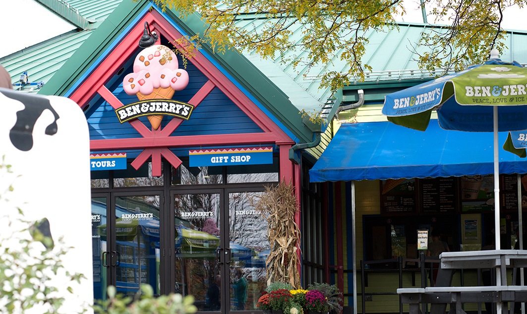 exterior of Ben & Jerry's store