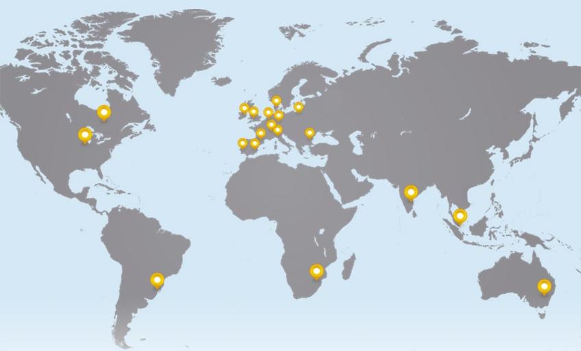 Ebeltoft Group map