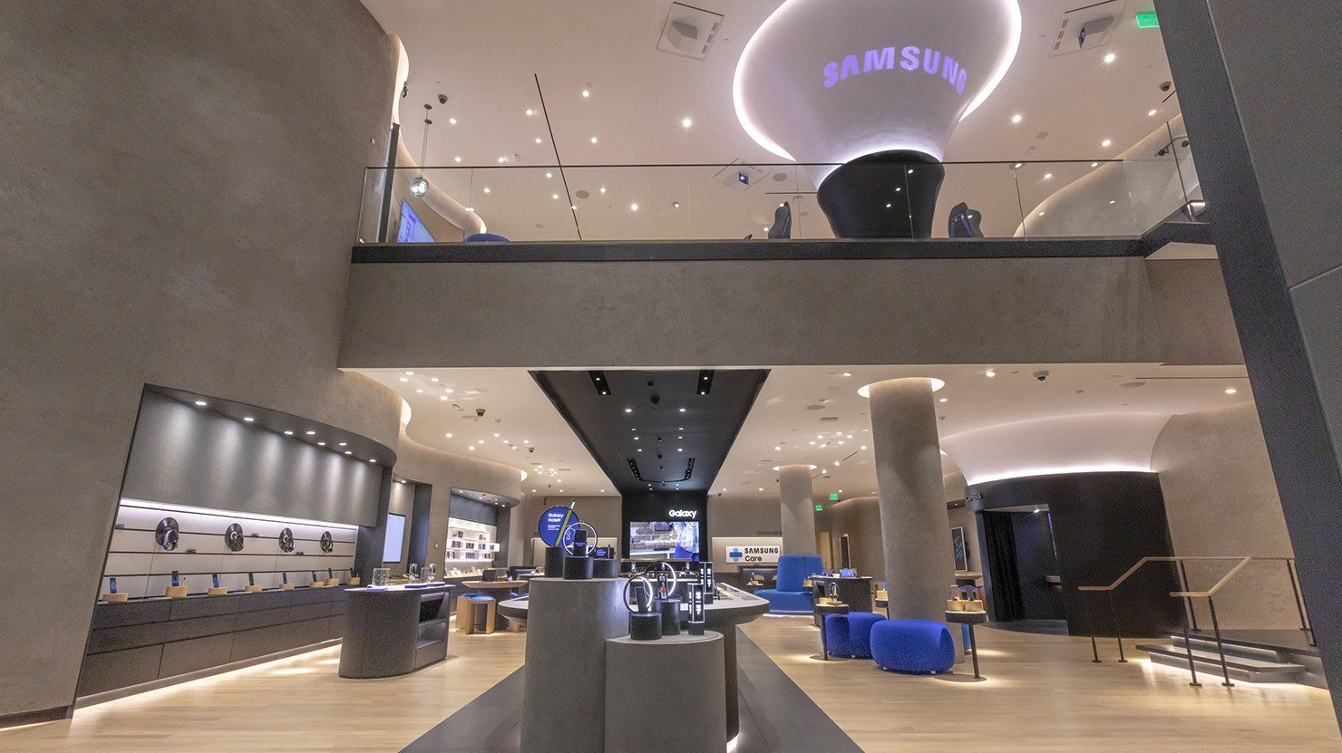 Samsung Experience Store LA Retail