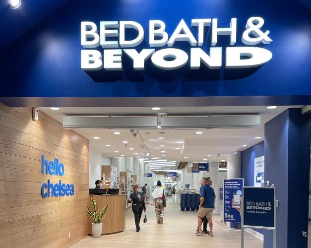 Bed Bath & Beyond NYC flagship facade