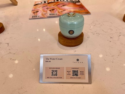 Allure Beauty Store digital experience