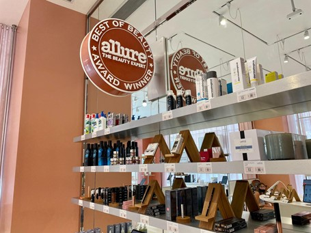 Allure Beauty Store curated assortment