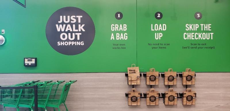 Amazon Fresh shopping instructions
