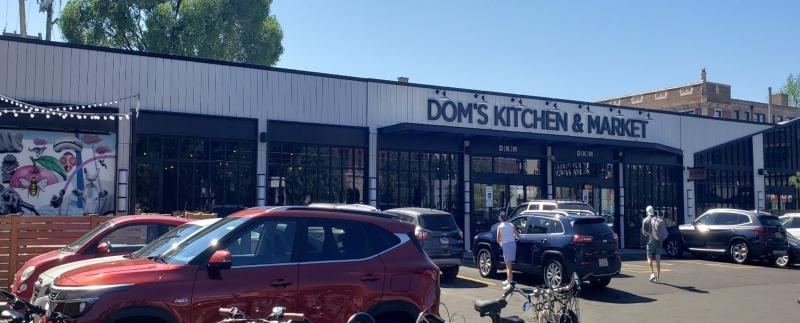 Dom's exterior entrance