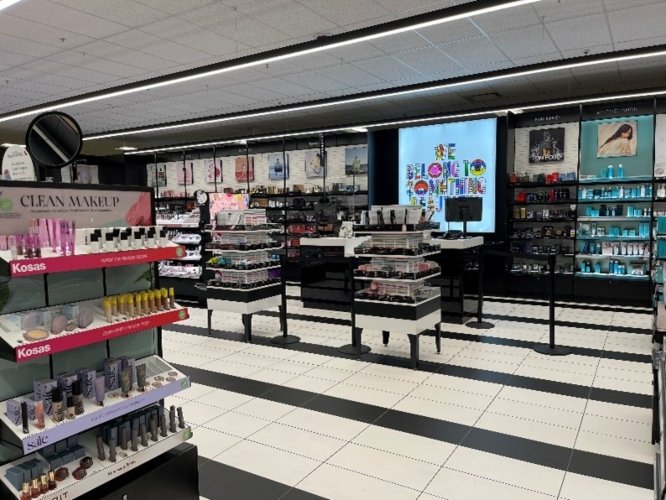 Sephora's separate checkout